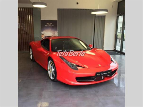 Ferrari 458 Italia Italia TOP STAV, foto 1 Auto-moto, Automobily | Tetaberta.sk - bazár, inzercia zadarmo