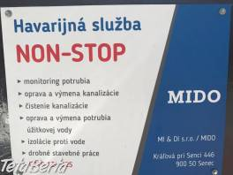 Krtkovanie, čistenie kanalizácie, oprava vody , Dom a záhrada, Opravári a inštalatéri  | Tetaberta.sk - bazár, inzercia zadarmo