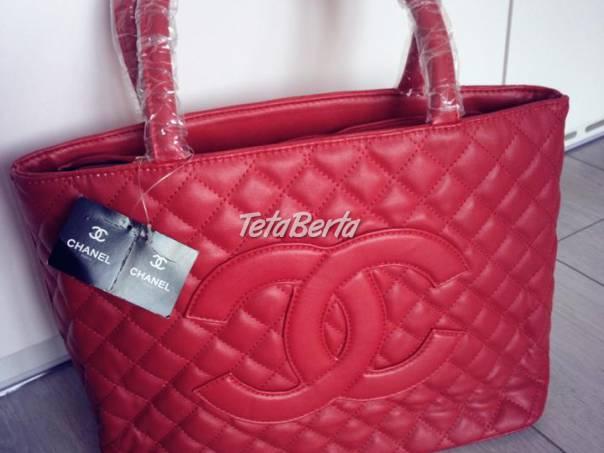 5789f8c724 Červena kabelka Chanel