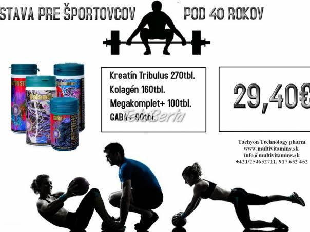 Pre športovcov do 40 rokov, doplnky stravy pre výživu svalstva, kĺbov,..., foto 1 Móda, krása a zdravie, Starostlivosť o zdravie | Tetaberta.sk - bazár, inzercia zadarmo