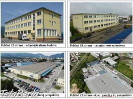 Priestory v logistickom areáli v Martine-Priekope na prenájom , Reality, Kancelárie a obch. priestory    Tetaberta.sk - bazár, inzercia zadarmo