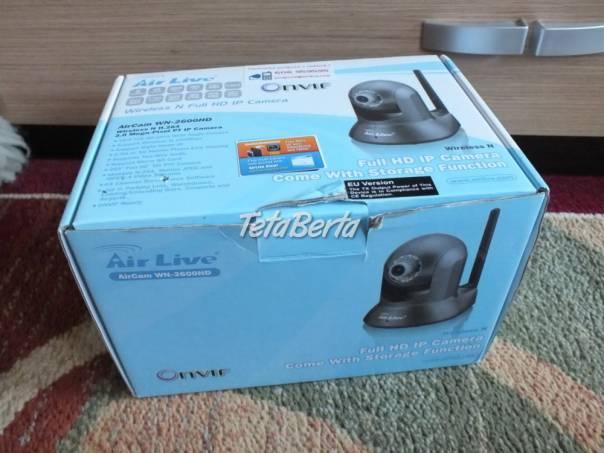 Predám AirCam WN-2600HD IP kamera. Bez záruky ale v plne funkčnom stave., foto 1 Elektro, Video, dvd a domáce kino   Tetaberta.sk - bazár, inzercia zadarmo