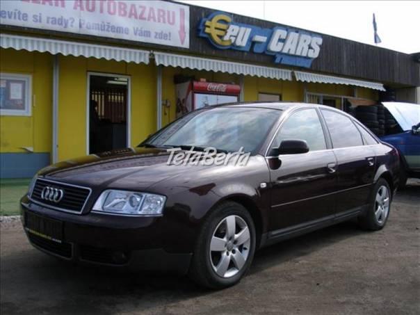 Audi A6 2,5 TDi,4x4,  MANUÁLNÍ PŘEVODO, foto 1 Auto-moto, Automobily | Tetaberta.sk - bazár, inzercia zadarmo