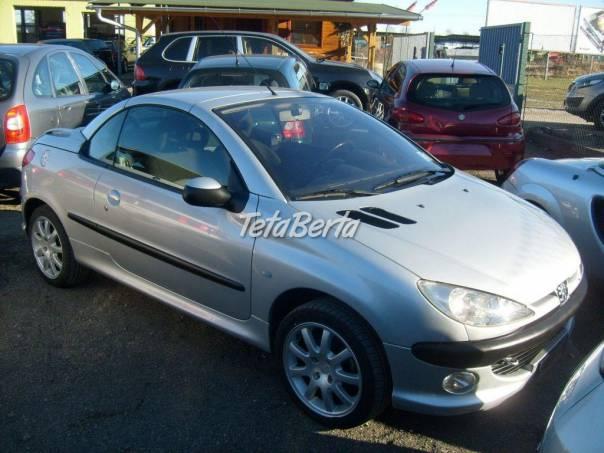 Peugeot 206 1.6i 16V CC, foto 1 Auto-moto, Automobily | Tetaberta.sk - bazár, inzercia zadarmo