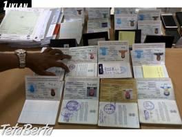 SSD Solution / Kúpiť skutočné / falošné pasy, vodičský preukaz, identifikačné karty, víza, zelená karta USA, občianstvo , Obchod a služby, Ostatné  | Tetaberta.sk - bazár, inzercia zadarmo