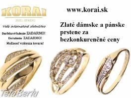 Zlaté prstene KORAI , Móda, krása a zdravie, Hodinky a šperky    Tetaberta.sk - bazár, inzercia zadarmo