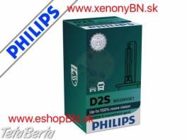 Philips D2S Xenon X-treme Vision 2.Gen, 4800K +150% 12V/24V TOP (1kus) , Náhradné diely a príslušenstvo, Automobily  | Tetaberta.sk - bazár, inzercia zadarmo