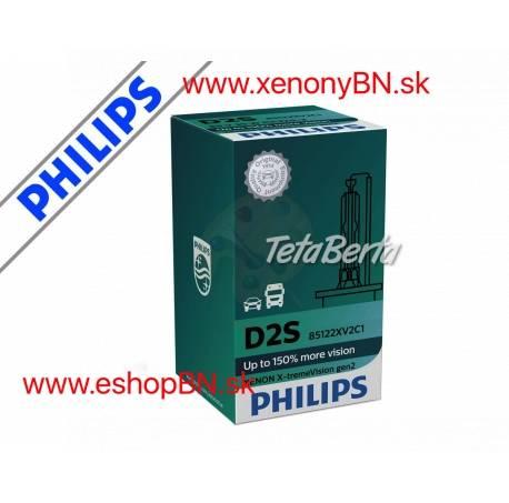 Philips D2S Xenon X-treme Vision 2.Gen, 4800K +150% 12V/24V TOP (1kus), foto 1 Náhradné diely a príslušenstvo, Automobily | Tetaberta.sk - bazár, inzercia zadarmo