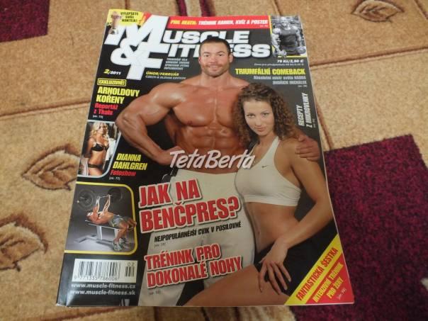 Predám staršie časopisy Muscle Fitness., foto 1 Hobby, voľný čas, Ostatné   Tetaberta.sk - bazár, inzercia zadarmo