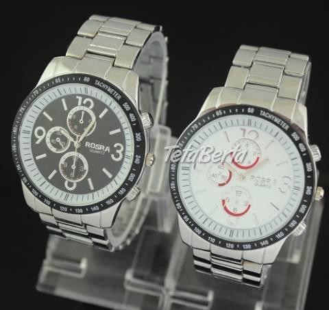 Pánske strieborné hodinky, foto 1 Móda, krása a zdravie, Hodinky a šperky   Tetaberta.sk - bazár, inzercia zadarmo