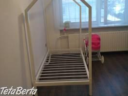 Kovová domčeková posteľ , Dom a záhrada, Postele a matrace  | Tetaberta.sk - bazár, inzercia zadarmo