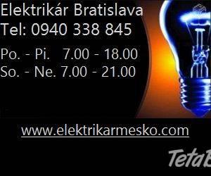 Elektrikár Bratislava 24/7, foto 1 Hobby, voľný čas, Ostatné | Tetaberta.sk - bazár, inzercia zadarmo