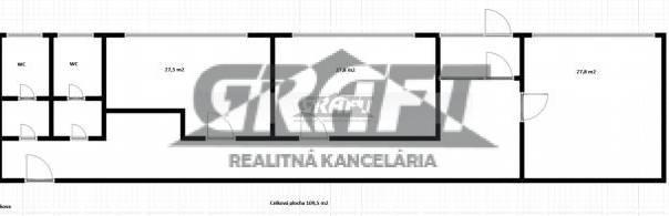 RK-GRAFT ponúka 3-kancelárie Tomášikova ul. – Ružinov , foto 1 Reality, Kancelárie a obch. priestory | Tetaberta.sk - bazár, inzercia zadarmo