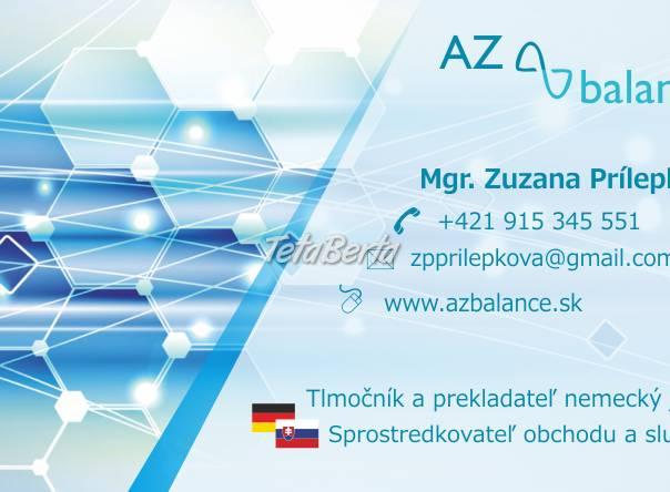 Tlmočenie a preklady nemecký jazyk, foto 1 Obchod a služby, Preklady, tlmočenie a korektúry | Tetaberta.sk - bazár, inzercia zadarmo