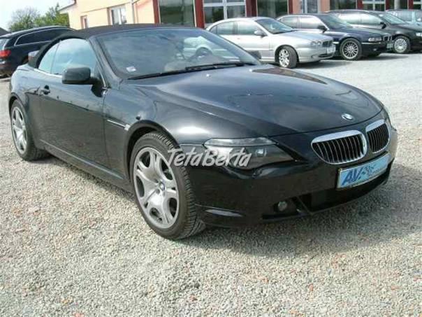 BMW Řada 6 645 CI TV NAVI CABRIO, foto 1 Auto-moto, Automobily | Tetaberta.sk - bazár, inzercia zadarmo