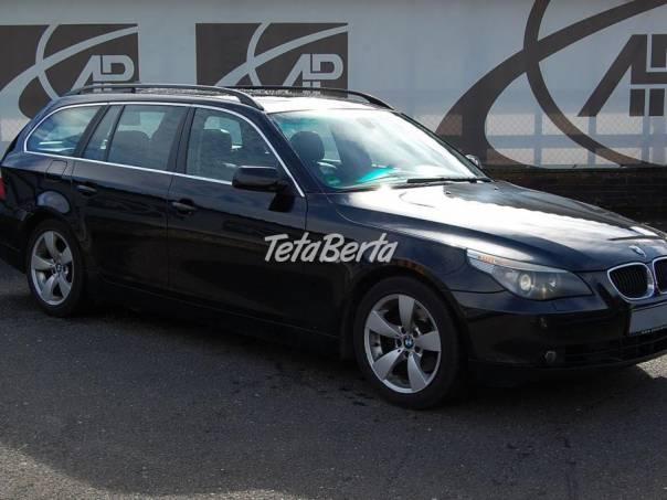 BMW Řada 5 525d Automat, Navi, kůže, foto 1 Auto-moto, Automobily   Tetaberta.sk - bazár, inzercia zadarmo