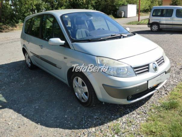 Renault Grand Scénic 1,9DCi 88kW 7sedaček, foto 1 Auto-moto, Automobily | Tetaberta.sk - bazár, inzercia zadarmo