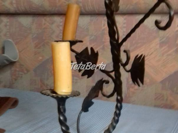 Trojramnný kovaný svietnik, foto 1 Hobby, voľný čas, Šport a cestovanie | Tetaberta.sk - bazár, inzercia zadarmo
