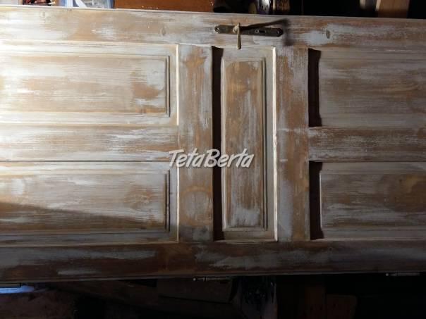 Dvere na rustikalny  styl.90.P., foto 1 Dom a záhrada, Záhradný nábytok, dekorácie | Tetaberta.sk - bazár, inzercia zadarmo