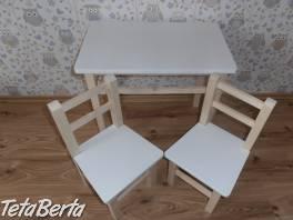 Detský stolík s 2.stoličkami , Pre deti, Detský nábytok  | Tetaberta.sk - bazár, inzercia zadarmo