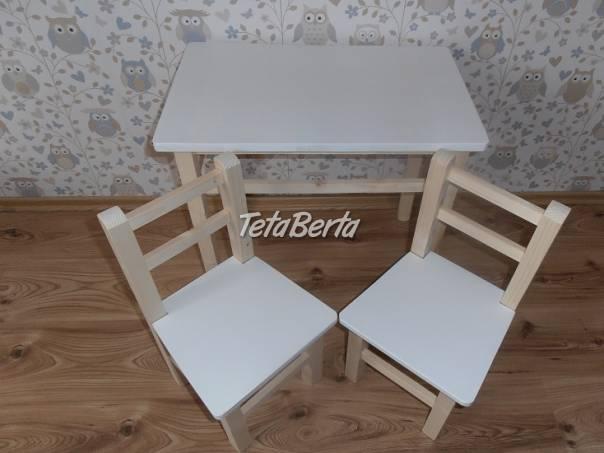 Detský stolík s 2.stoličkami, foto 1 Pre deti, Detský nábytok | Tetaberta.sk - bazár, inzercia zadarmo