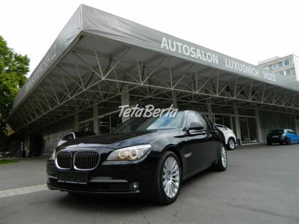 BMW Řada 7 740d xDrive ODPOČET DPH, foto 1 Auto-moto, Automobily | Tetaberta.sk - bazár, inzercia zadarmo