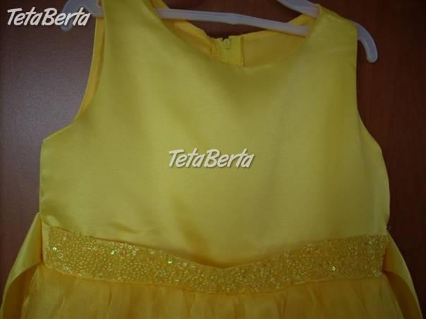 c37484846570 žlté spoločenské šaty