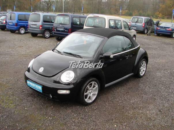 Volkswagen New Beetle 1.9 TDI CABRIO, foto 1 Auto-moto, Automobily | Tetaberta.sk - bazár, inzercia zadarmo
