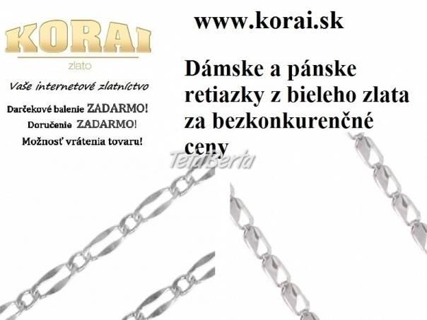Retiazky z bieleho zlata od KORAI d09ec214d97