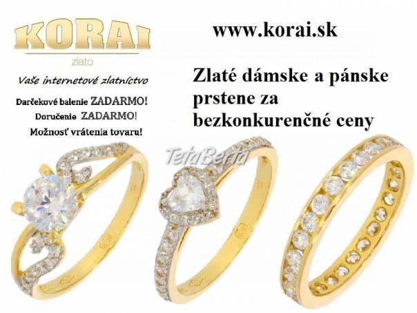 Zlaté prstene KORAI, foto 1 Móda, krása a zdravie, Hodinky a šperky | Tetaberta.sk - bazár, inzercia zadarmo