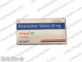 Rpigat 20 mg Rivaroxaban Tablet , Móda, krása a zdravie, Starostlivosť o zdravie  | Tetaberta.sk - bazár, inzercia zadarmo