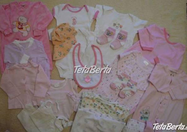 ecfc961b11f8 Balík oblečenia pre novorodenca - dievčatko
