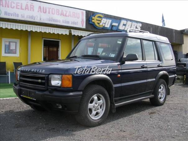 Land Rover Discovery 2,5 TD5,  ,4x4,DIGIKLIMA, foto 1 Auto-moto, Automobily | Tetaberta.sk - bazár, inzercia zadarmo
